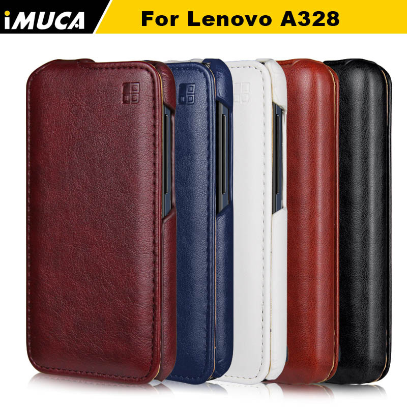 low priced cfa8a 47842 Lenovo A328 Case Cover Luxury Flip Leather Case for Lenovo A328 A 328 IMUCA  Vertical Flip Phone Cases for Lenovo A328 Fundas